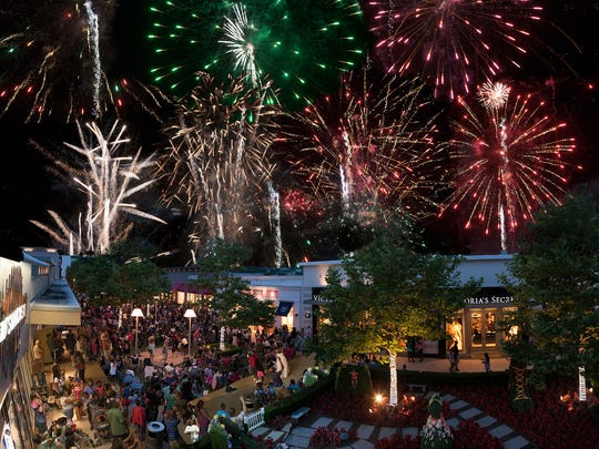 Celebrate Independence Day a little early with a fireworks display on July 2 at Cross County Shopping Center.