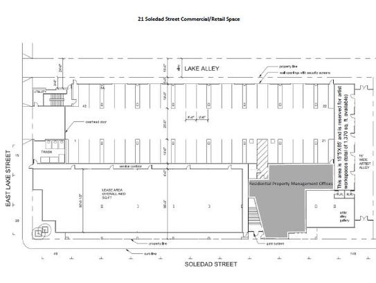An early blueprint of the MidPen Housing project in