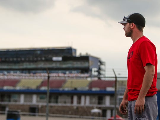 """""""He deserves it,"""" ARCA driver Chad Finley said Wednesday,"""