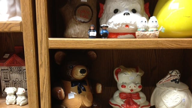 Collectibles are always popular at the Ronald McDonald House Charities of Rochester sale.