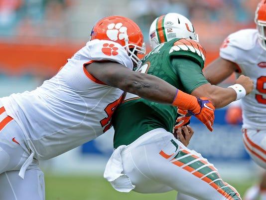 Clemson Miami Football