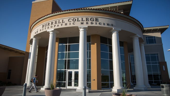 The Burrell College of Osteopathic Medicine on the NMSU campus. Friday, August 26, 2016.