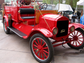 1923 Ford Model T fire truck: This original, restored