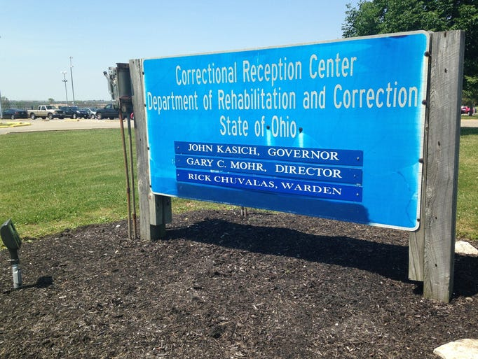 The Correctional Reception Center in Orient, Ohio.