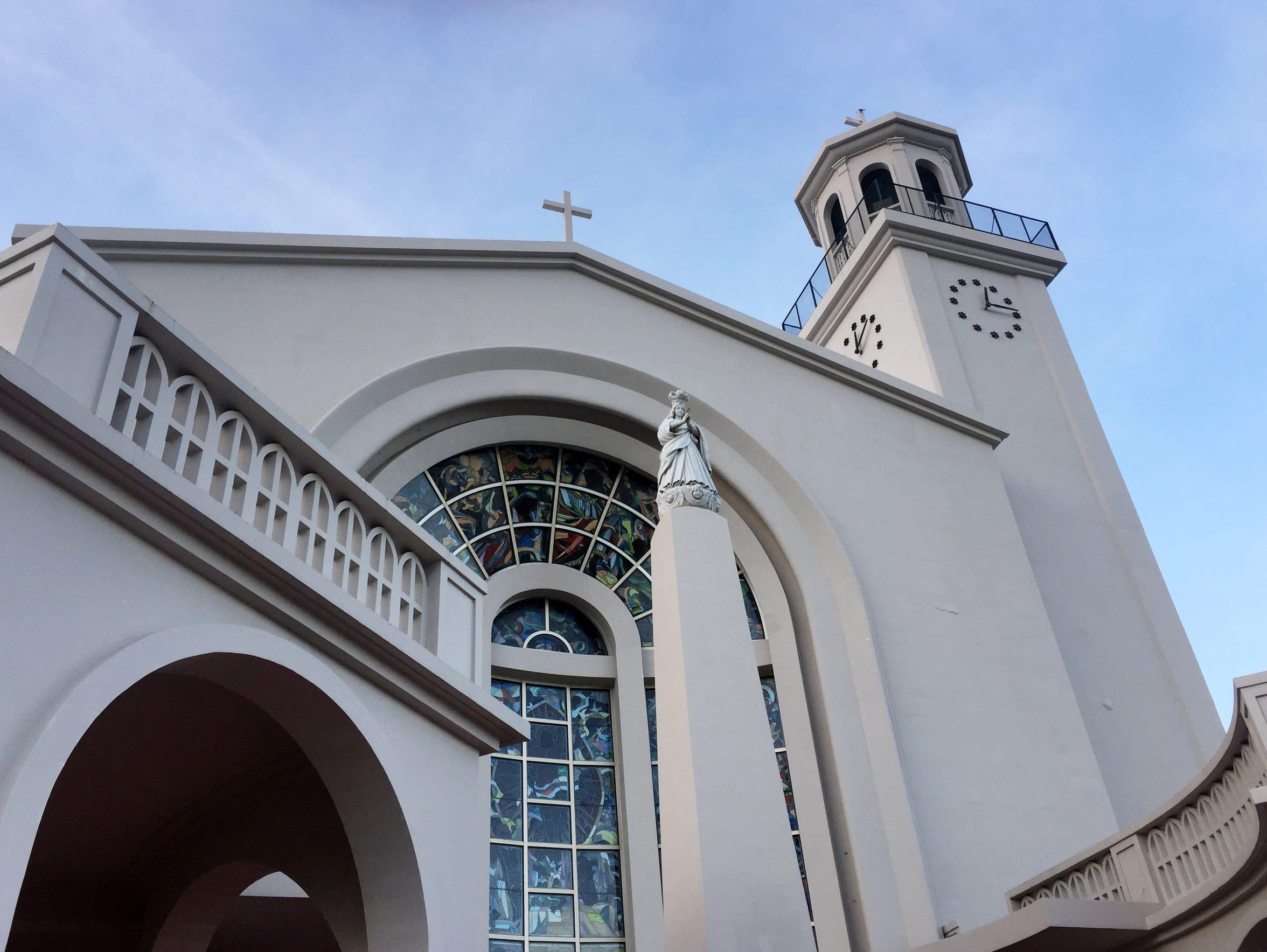 The Dulce Nombre de Maria Cathedral-Basilica in Hagåtña