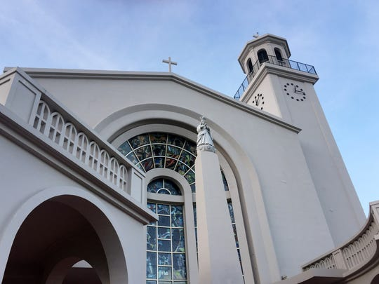 The Dulce Nombre de Maria Cathedral-Basilica in Hagåtña is shown in this file photo.