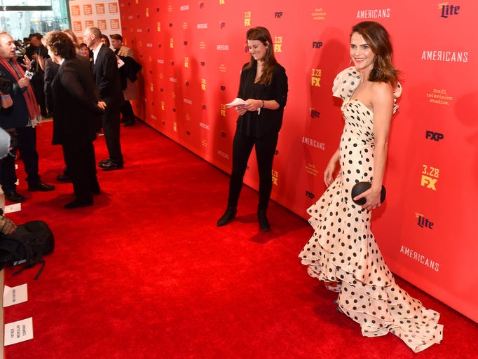 "Keri Russell attends ""The Americans"" Season 6 Premiere"