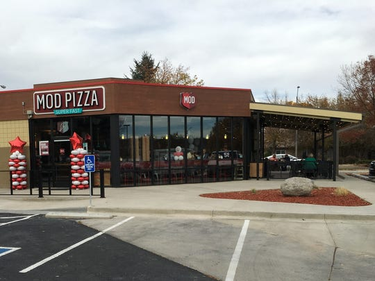 Fort Collins' MOD Pizza is located in a former gas