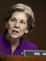 Sen. Elizabeth Warren, D-Mass.  (AP Photo/Carolyn Kaster, File)