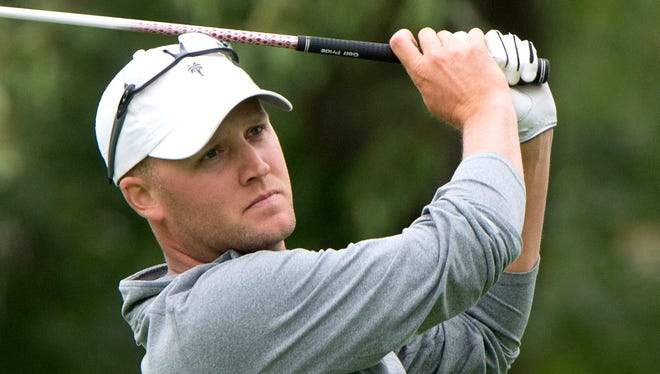 Andy Buege has a share of the lead at the Wisconsin State Open.
