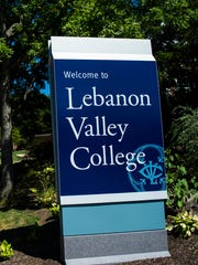 Lebanon Valley College sign pictured on August 25, 2015.