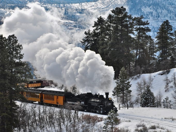 Celebrate Christmas With A Festive Train Ride