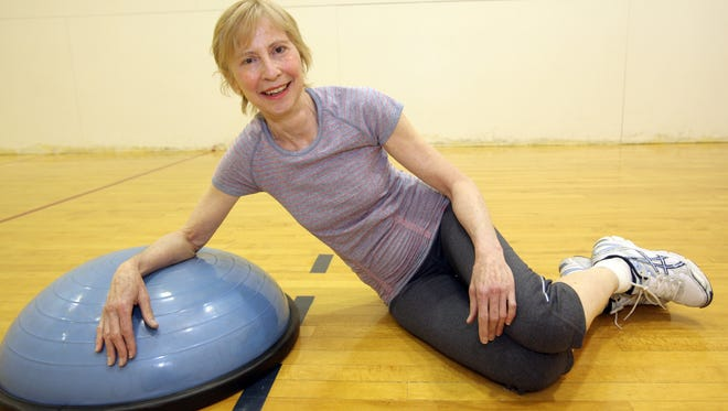 Saskia Mossel is a personal trainer at the JCC of Mid-Westchester in Scarsdale May 30, 2014.