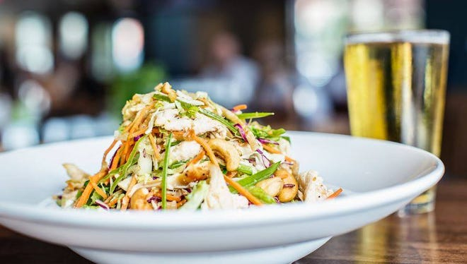 Blackfinn Ameripub's eclectic Montgomery menu features a wide range of specialty salads.