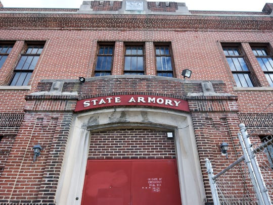 The National Guard Armory in York City. (Bill Kalina