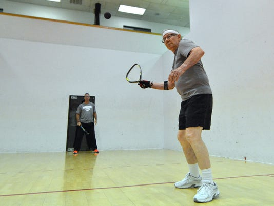 Local octogenarian to play in racquetball tournament