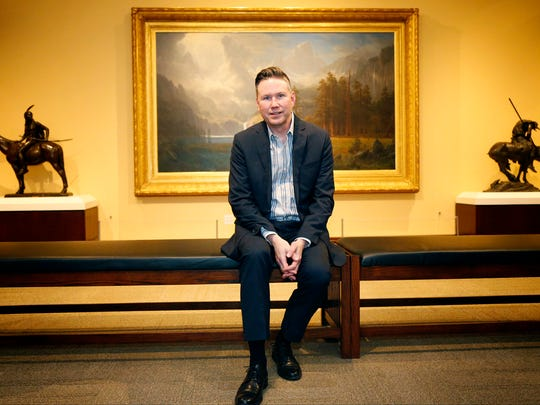 Brian Lee Whisenhunt began his new role as the Rockwell Museum's executive director in early January.