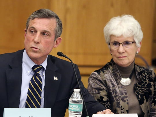 Gov. John Carney and Education Secretary Susan Bunting visited schools in three counties on Thursday to announce an initiative to stock basic needs closets in 45 high-needs Delaware schools.
