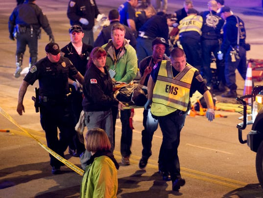 1394699834000 AP South By Southwest Fatal Crash 002 Show goes on at SXSW after hit and run tragedy