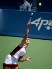 Karolina Pliskova beat Angelique Kerber, 6-3, 6-1,
