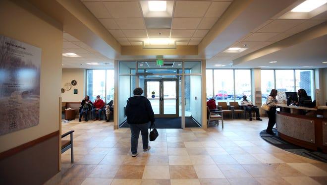 Open Door Health Services lobby