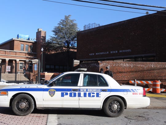 New Rochelle police respond to reports of a student