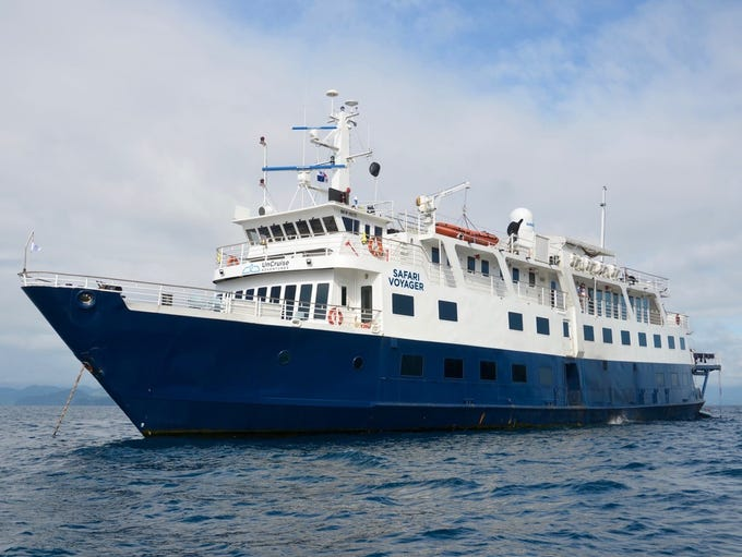 The Safari Voyager is an all-inclusive, 62-guest cruise
