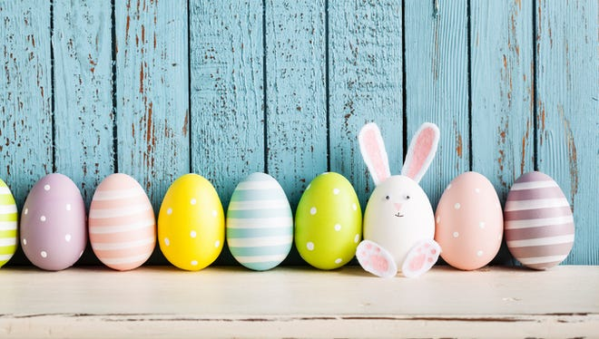 With Easter comes the hunt for decorated eggs.