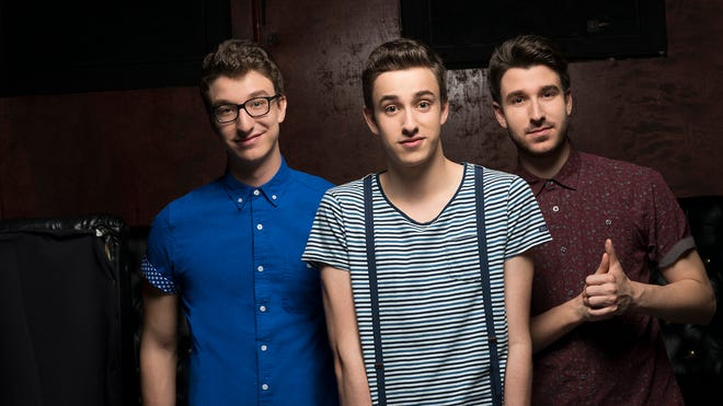 Ryan, left, Jack and Adam Met of AJR. The trio's 'I'm Ready' is a hit on top 40 radio.