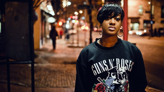 Rapsody, the only woman nominated for best rap album at the 2018 Grammys, will wear a white rose pin to support Time's Up.