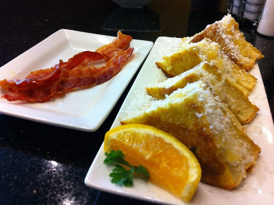 Stuffed French Toast is one of the selections from Keke's Breakfast Cafe, a dining concept coming to south Fort Myers.
