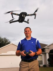 Chris Charron of Titusville is a drone hobbyist who