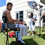 Mariota's first day of training camp