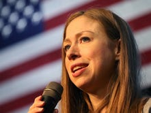Chelsea Clinton urges 'team effort' in Point