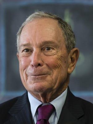 Former New York Mayor Michael Bloomberg
