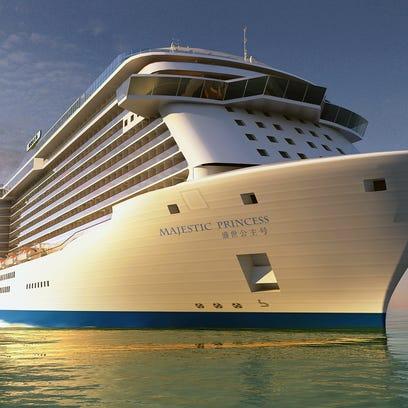 First look: Princess Cruises' new Regal Princess