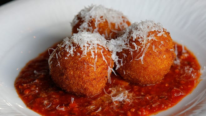 Arancini is one Italian recipe at Zarletti Mequon.