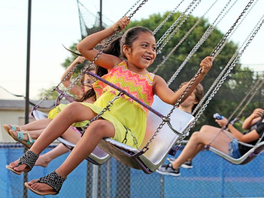 The Urbandale Fourth of July celebration features a midway with carnival rides and games.