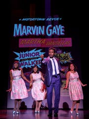 Matt Manuel as Marvin Gaye and The Supremes as portrayed