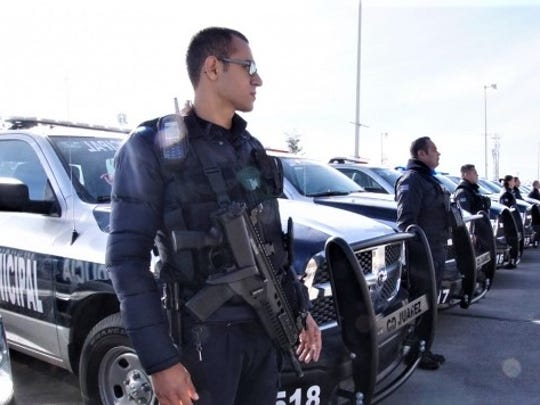 Juarez police. File art.