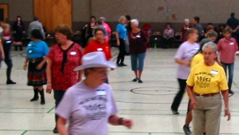 The Zia Zingers Line Dancers of Deming hosted a country-western jamboree this past Saturday that drew 100 line dancers from the tri-state area.