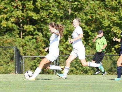 The TCA girls' soccer team has one loss through the first five weeks of the season.