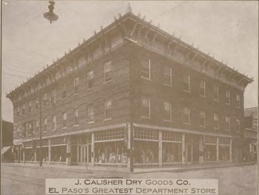 CALISHER'S DRY GOODS CO