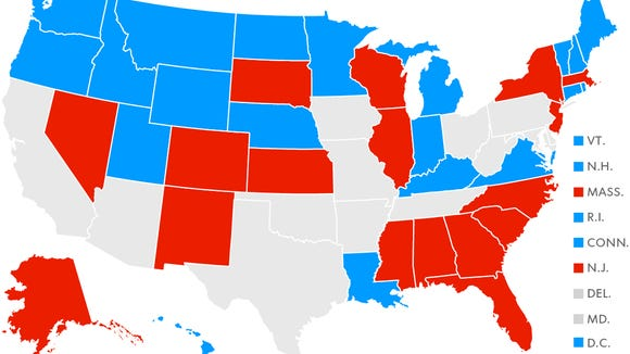 Here's a look at what states allow ballot selfies and which ones do not. NY bans selfies with completed ballots.