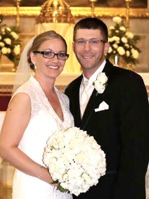 Deborah L. Meckley and Keith R. Redding were married June 13, 2015 in Hanover.