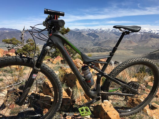 Lots of places to get cool photos of your bike on this