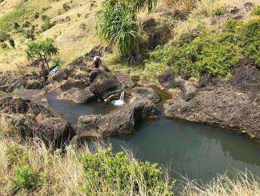 Priest Pools in Umatac.