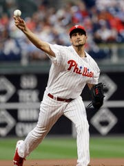 Phillies pitcher Zach Eflin went 5-0 with a 1.76 ERA in June after shutting down the Yankees Wednesday in the Phillies' 3-0 win.
