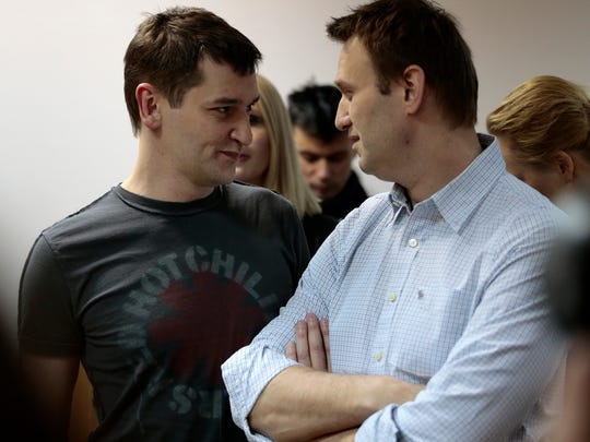 Russian opposition activist and anti-corruption crusader
