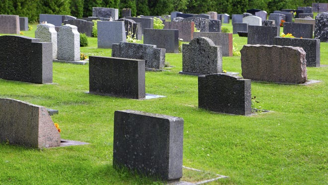 File image, not Hanover Cemetery.
